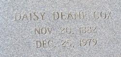 Daisy Deane <i>Allen</i> Cox