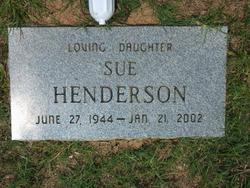 Mildred Sue <i>Price</i> Henderson