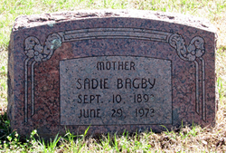 Emma Belle Sadie <i>Morris</i> Bagby