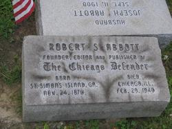 Robert Sengstacke Abbott