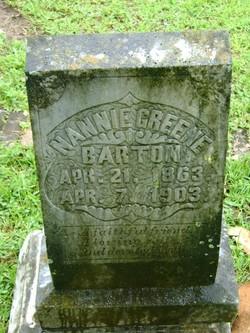 Nannie <i>Green</i> Barton