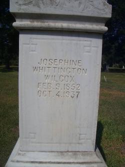 josephine <i>whittington</i> Wilcox