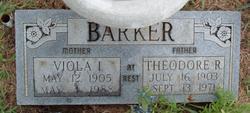 Viola I. <i>Morris</i> Barker