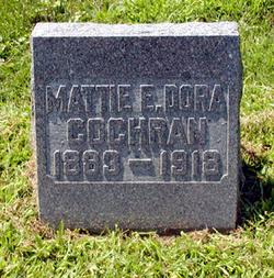 Mattie E <i>Dora</i> Cochran