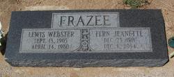 Fern Jeanette <i>Chappuis</i> Frazee