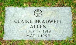 Claire <i>Bradwell</i> Allen