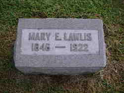 Mary E Lawlis