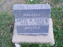 Artie M. <i>Green</i> Dalzell