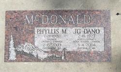 Phyllis M McDonald