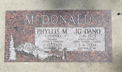 JG Dano McDonald