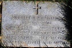 Merritt R Crawford