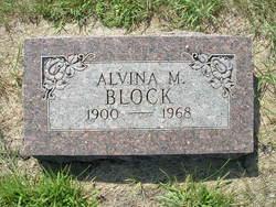 Alvina Mary Block