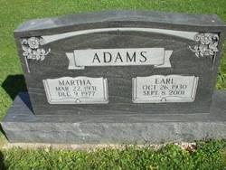 Martha <i>Winters</i> Adams