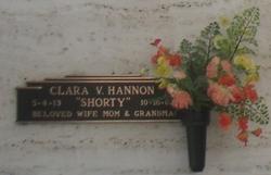 Clara V. <i>Kitchings</i> Hannon