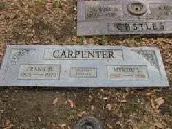 Myrtie Lee <i>Creech</i> Carpenter