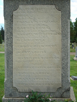 Louisa Chapin <i>Gordon</i> Woolley