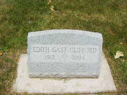 Edith <i>Gast</i> Clifford