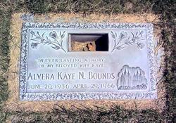 Alvera Kaye <i>Norman</i> Bounds
