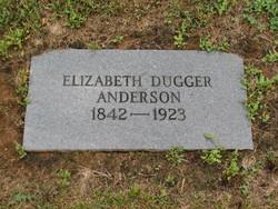 Elizabeth <i>Dugger</i> Anderson