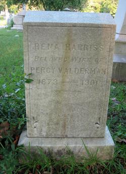 Rena <i>Harriss</i> Alderman