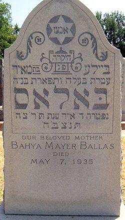 Bahya Mayer <i>Cohen</i> Ballas