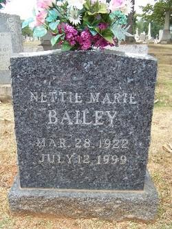 Nettie Marie Bailey