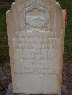 Sarah Jane <i>Whiteley</i> Allen