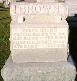 Amanda Caroline <i>Jewell</i> Brown