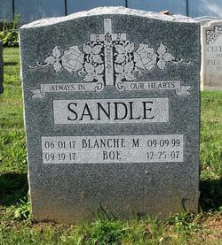 Blanche M Sandle
