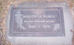 Dorothy H <i>Carman</i> Wemple