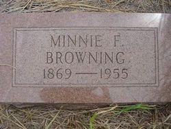 Minnie F. Browning