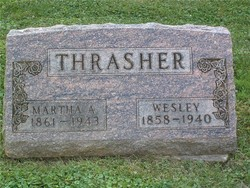 Martha A <i>Carnahan</i> Thrasher