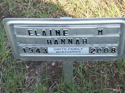 Elaine M <i>Usher</i> Hannah