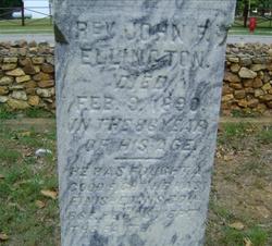 Rev John Fletcher Ellington