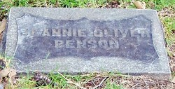 Jeannie <i>Oliver</i> Benson