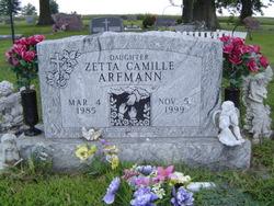 Zetta Camilla Camilla, Aunt Milly Arfmann