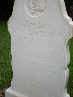 Ann Clare Brokaw