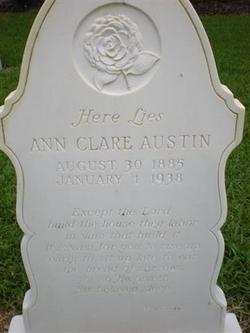 Ann Clare <i>Schneider</i> Austin