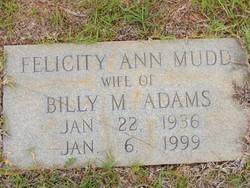 Felicity Ann <i>Mudd</i> Adams