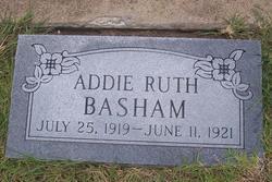 Addie Ruth Basham