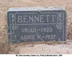 Abbie W Bennett