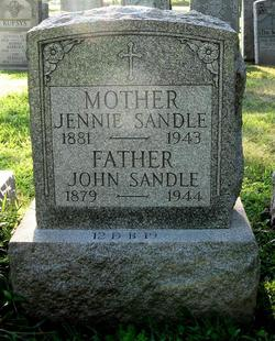Sr Johnj <i>Sandle</i> Sandle, Sr