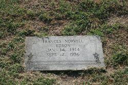 Frances Barton <i>Norvell</i> Edson