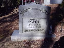 Emma Lou <i>Caudill</i> Campbell