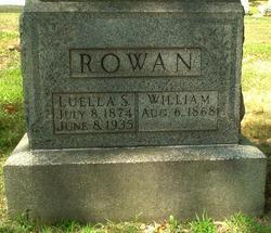 Luella Sarah <i>Harrold</i> Rowan