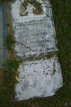 Martha <i>Ellington</i> White