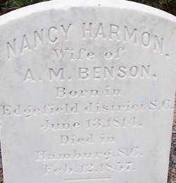 Nancy <i>Harmon</i> Benson