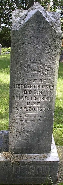 Alice Hobson