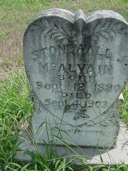 Stonewall Jackson McAlvain