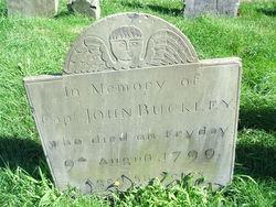 Capt John Buckley